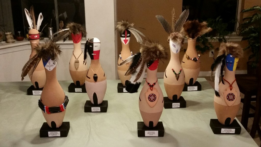 Photo of the 2015 Summer Bowling Trophies